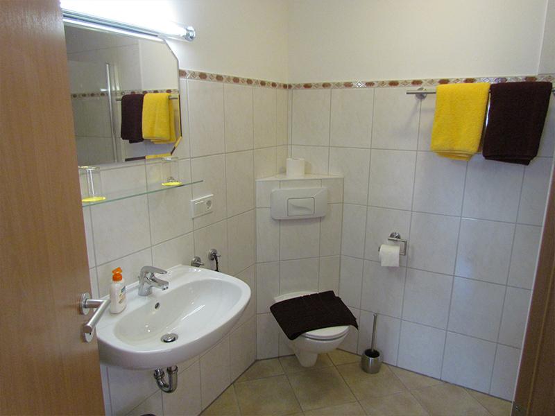 Wohnung1 Badezimmer